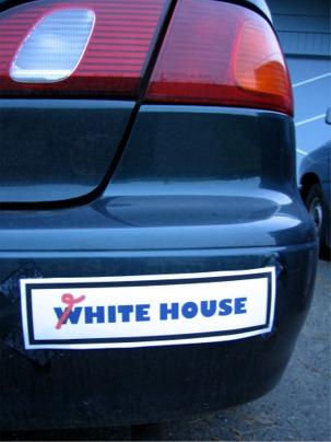 Defective yeti i made a bumper sticker